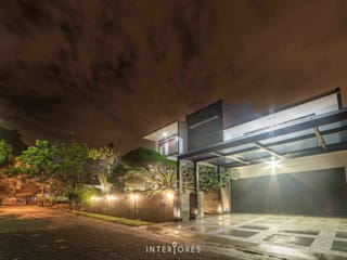 Modern houses by INTERIORES - Interior Consultant & Build Modern