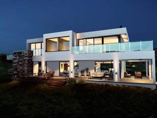 CASA TIERRA VIRGEN: Casas de estilo minimalista por mgt_Estudio de  Arquitectura + Diseño