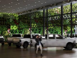 Gilberto Cardoso interiores Office spaces & stores