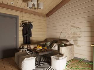 Salle de bain rurale par Компания архитекторов Латышевых 'Мечты сбываются' Rural