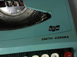 Portable Typewriter Smith Corona Vintage 1960's Rural Retro Office spaces & stores