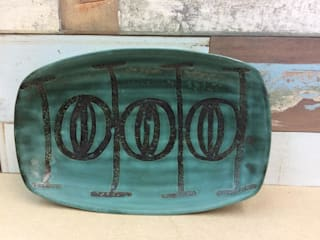 Mid Century Studio pottery dish Rural Retro HouseholdHomewares