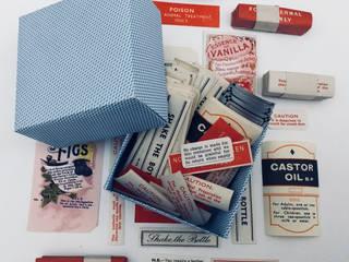 Vintage pharmacy chemist labels Rural Retro HouseholdAccessories & decoration