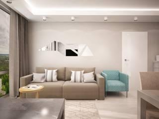 дизайн-бюро ARTTUNDRA Living room Grey