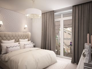 дизайн-бюро ARTTUNDRA Classic style bedroom White