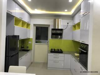 Modular Kitchen by Enrich Interiors & Decors Modern