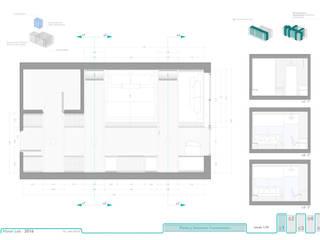 Planta de distribución de mobiliario.:  de estilo  de RR Estudio Interiorismo