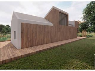 # MM_MÒDULO MADEIRA | WOOD MODULE Casas modernas por FERREIRARQUITETOS Moderno