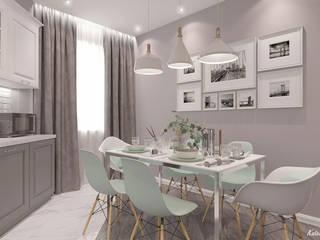 Квартира Кухня в стиле минимализм от Булычева Катерина Минимализм