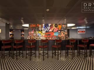 DRY Martini Bar Bares y clubs de estilo moderno de Proyectos JL Moderno