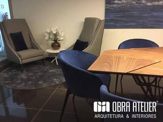 Sala de reuniões: Escritórios e Espaços de trabalho  por OBRA ATELIER - Arquitetura & Interiores