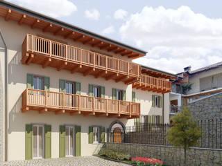 Ristrutturazione: Case in stile in stile Classico di arlan.ch atelier d'architettura