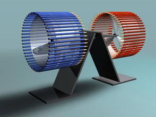 Twincase:  in stile  di arlan.ch atelier d'architettura