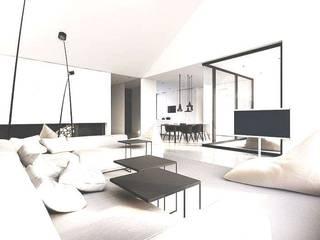 Architettura, i miei grandi progetti.: Ingresso & Corridoio in stile  di Studio Architetto Maria Boldini