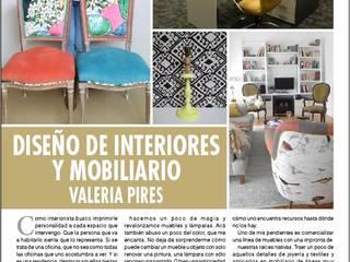 Decoración de comedor - reciclado de sillas de Valeria Pires Interiorismo Ecléctico