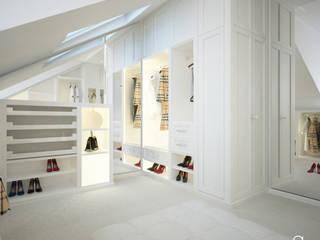Closets de estilo moderno de ANNA ORLIKOWSKA ARCHITEKTURA WNĘTRZ Moderno
