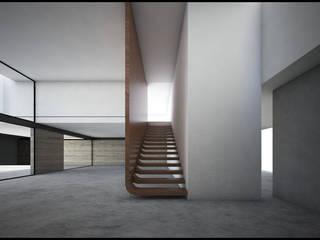 GRP: Escaleras de estilo  por Geometrica Arquitectura