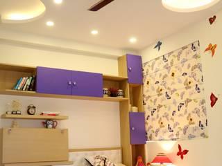4 BHK Apartment of Mrs Rezwana Zahir Bangalore Modern style bedroom by Cee Bee Design Studio Modern