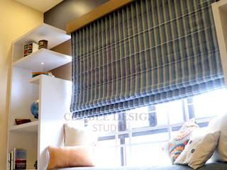 2 BHK Apartment of Mr Ritabrata Ray Kolkata Modern living room by Cee Bee Design Studio Modern