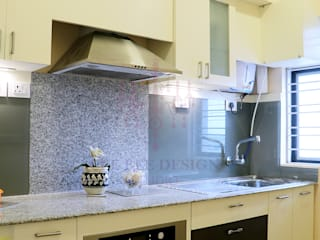 2 BHK Apartment of Mr Ritabrata Ray Kolkata by Cee Bee Design Studio Modern