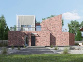 บ้านเดี่ยว โดย Архитектурное бюро, มินิมัล
