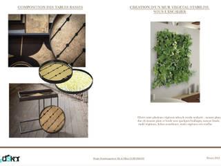 Tables Basses et Mur Végétal:  de style  par INDEKOR