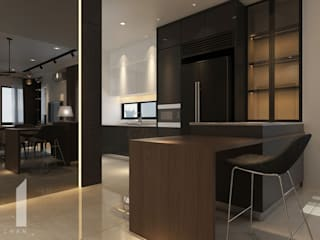 Setia Alam Muse Studio Modern style kitchen