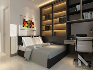 Setia Alam Muse Studio Modern style bedroom