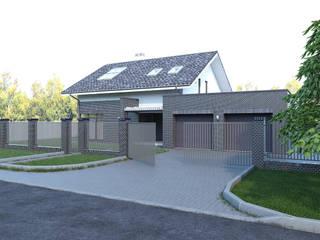 Жилой дом с баней:  в . Автор – Архитектурное бюро Пасынков и Партнеры