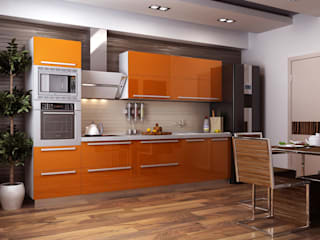 Kitchen:   by Slate Dezine