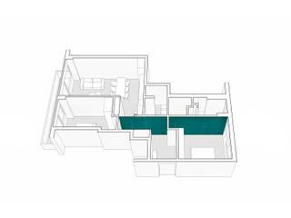 CASA M+P. FIRENZE:  in stile  di OKS ARCHITETTI