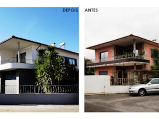 Remodelação exterior de fachadas por GAAPE - ARQUITECTURA, PLANEAMENTO E ENGENHARIA, LDA