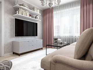 by Студия архитектуры и дизайна Дарьи Ельниковой Eclectic