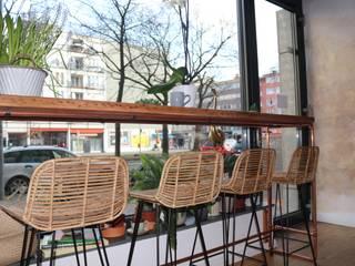 Deli Bar and Restaurant:   von Ivy's Design - Interior Designer aus Berlin