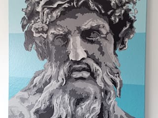 ZEUS:  de estilo  por MGC MAO PAINTINGS