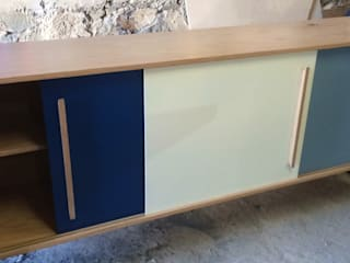 L´ ATELIERA Living roomCupboards & sideboards Wood Blue