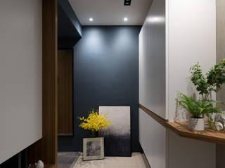 玄關 斯堪的納維亞風格的走廊,走廊和樓梯 根據 Moooi Design 驀翊設計 北歐風