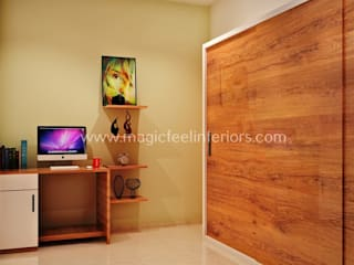 Residential Project Modern style bedroom by Magic Feel Interiors Modern