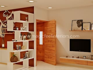 Residential Project Modern living room by Magic Feel Interiors Modern