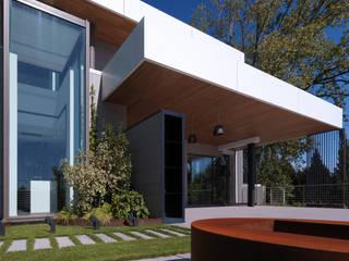 Villa Unifamiliare - Campagna di Udine - di Massimo Viti Architetto studio Architectural Make-Up+ Moderno