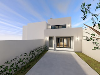 Casa das Amadas: Habitações multifamiliares  por Sousa Macedo, Arquitectos, Lda.