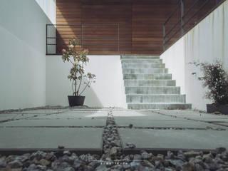 moradia LC: Jardins modernos por miguel lima amorim - arquitecto - arquimla
