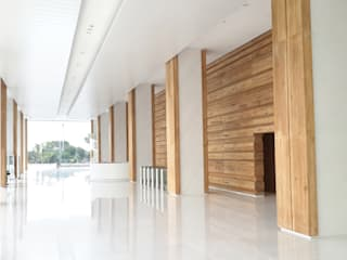 Area Lobby:  Corridor, hallway & stairs by Jati and Teak