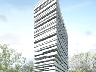 AD Premiere Office Tower Lobby:   by Jati and Teak