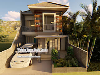 Desain Rumah Bapak Mahyudin Lubis di jakarta:   by Wahana Utama Studio