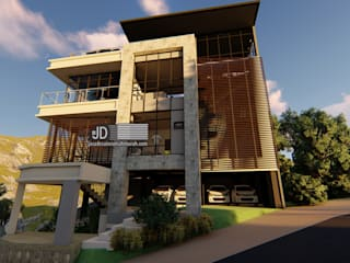 desain villa di batu:   by Wahana Utama Studio