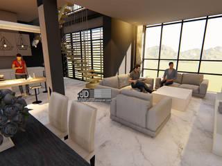 desain interior dapur Oleh Wahana Utama Studio Modern Granit