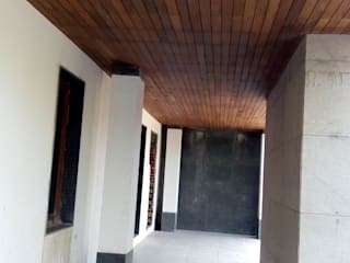 Country style corridor, hallway& stairs by Opulo India Country