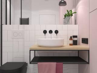 Łazienka 7m2 | Bielany: styl , w kategorii Łazienka zaprojektowany przez DESIGN MY DEER