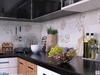 Kitchen Modern kitchen by VIZPIXEL STUDIO Modern